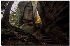 Porladó sziklák