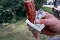Proteincsoki húsból... azaz spéci kolbász