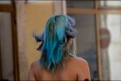 Kék-zöld haj