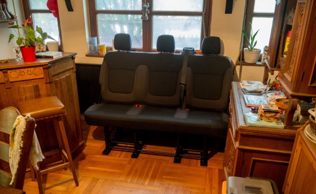 A hátsó üléssor