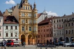 Ceske Budejovice főtér