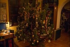 A feldíszített fa